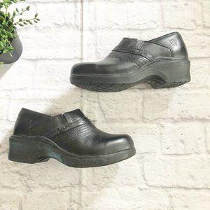 Ariat Black Safety Non Slip Clog 7c